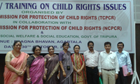 Training held on October 30th 2014 at Agartala